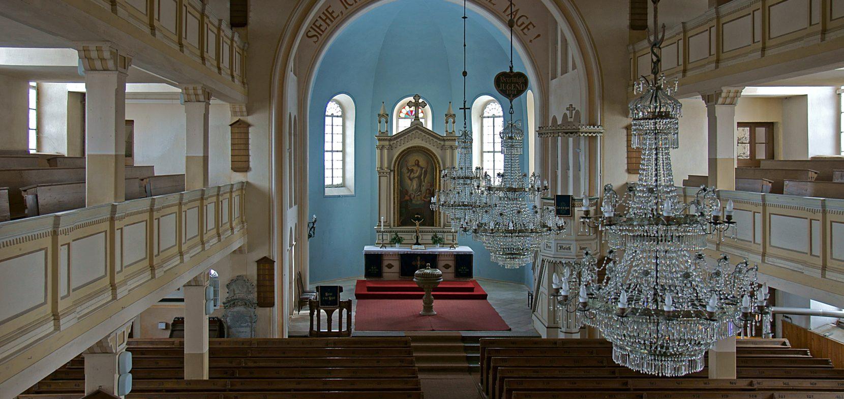 Ev.-Luth. Kirchgemeinde Steinigtwolmsdorf (Schwesterkirchverhältnis Neukirch/L. mit SK Steinigtwolmsdorf, Sohland, Wehrsdorf)